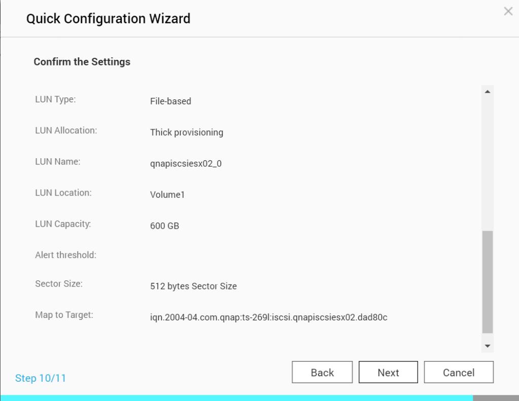 How to Configure VMware ESXi 6.7 to use iSCSI NAS Storage